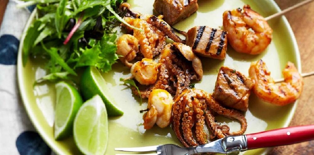 Шашлчыки Коктейль из морепродуктов