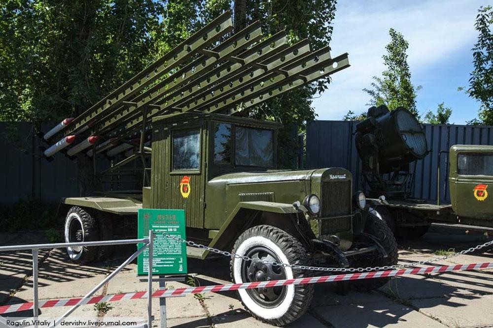 Боевая машина реактивной артиллерии БМ-13