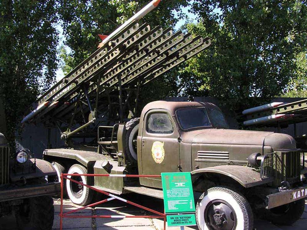 Боевая машина реактивной артиллерии БМ-13Н