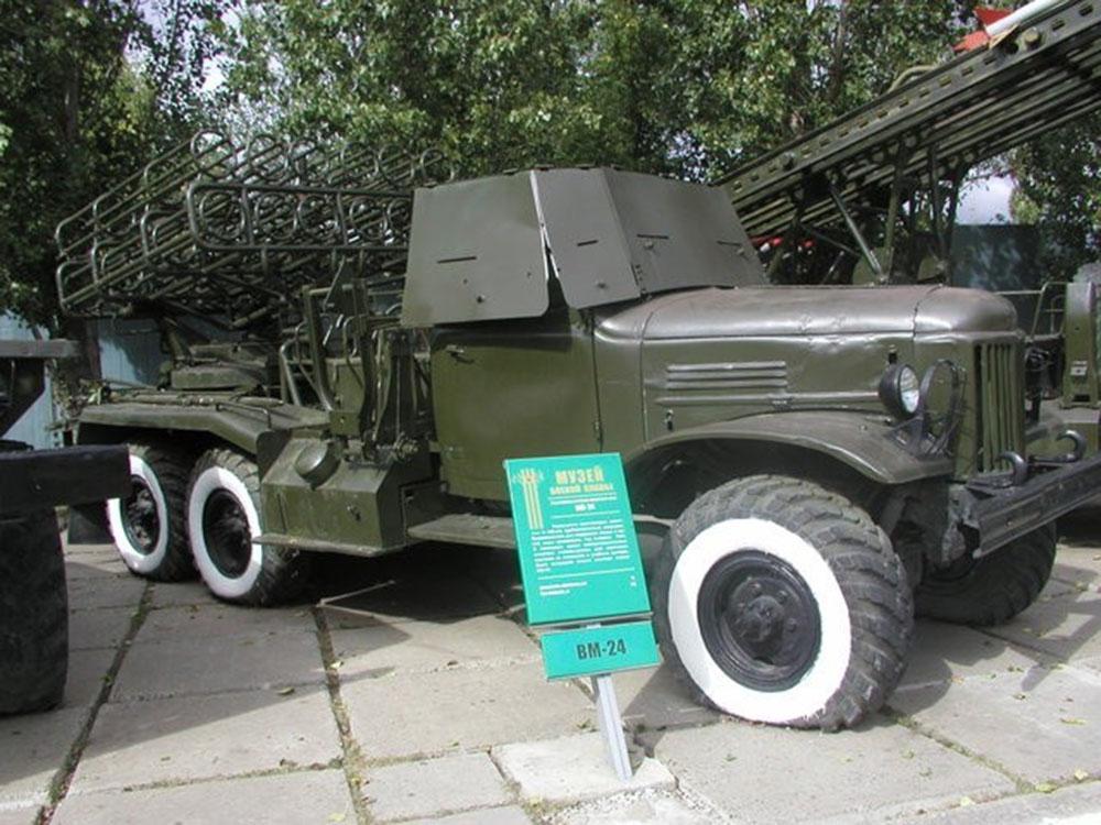 Боевая машина реактивной артиллерии БМ-24