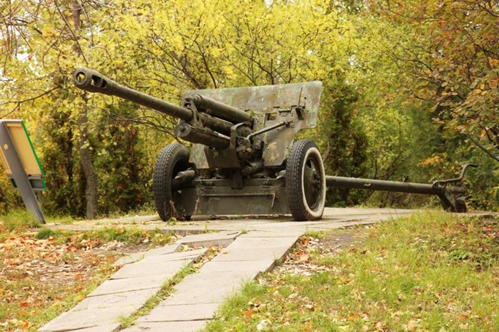76,2-мм противотанковая пушка ЗИС-3 образца 1942 года
