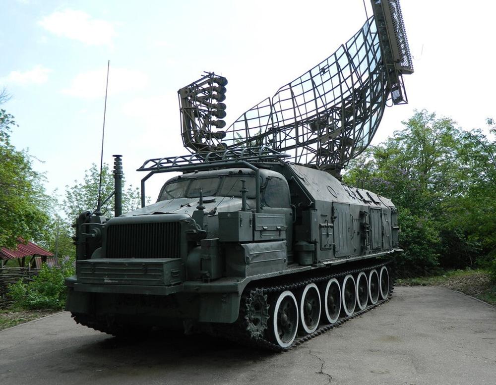 Станция обнаружения и целеуказания 1С12 самоходного зенитного ракетного комплекса 2К11 «Круг»