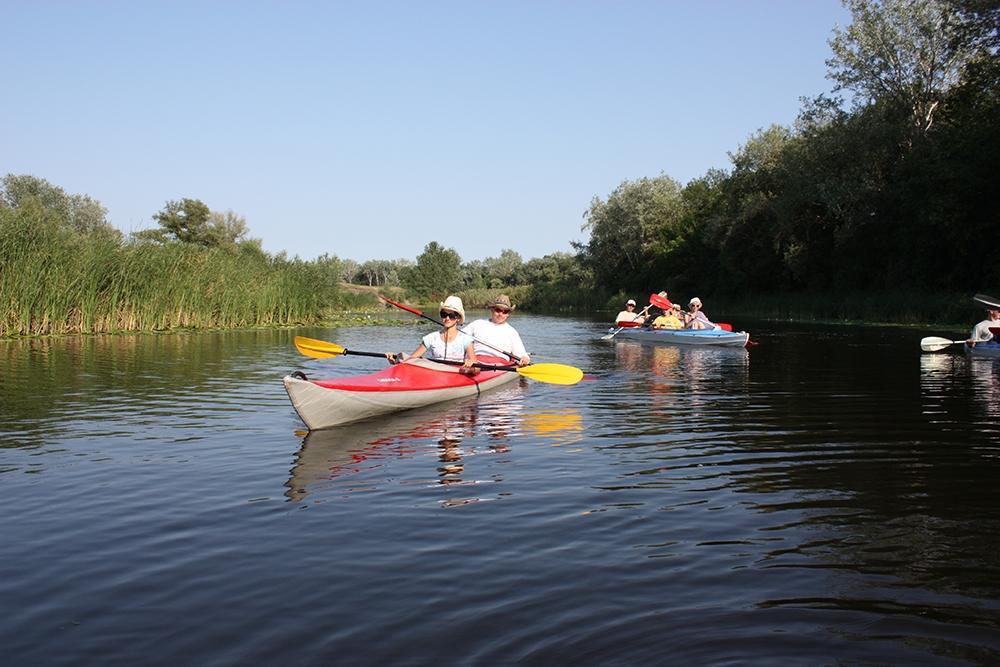 Сплавы на байдарках по реке Терешка