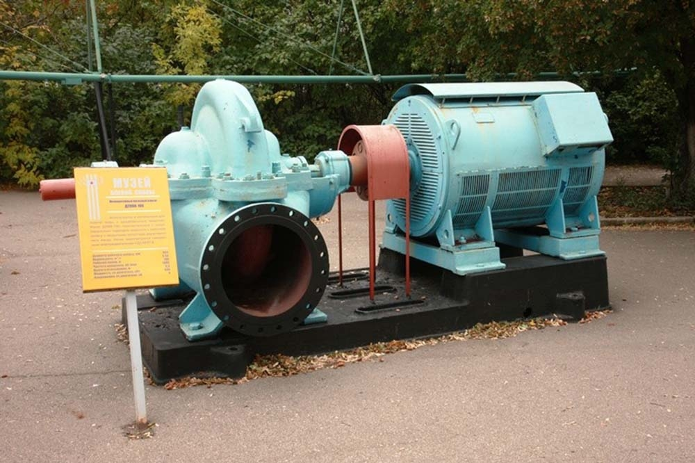 Мелиоративный насосный агрегат Д2000-100