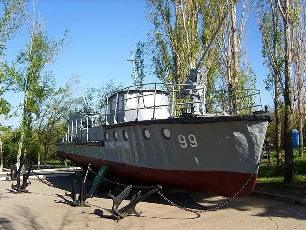 Буксирный катер проекта Т-63 1950-1970-е гг.