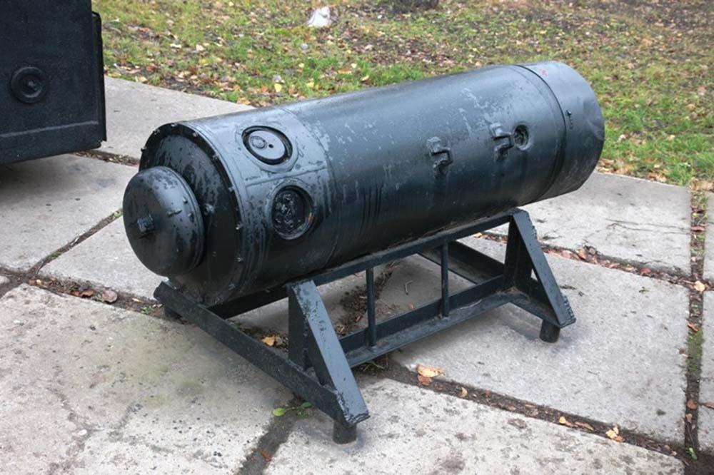 Морская донная акустическая мина МДМ-3 1980-1990-е гг.