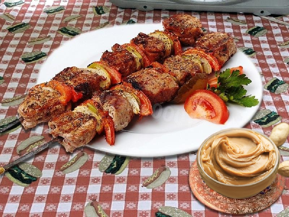 Соус из арахиса для мяса на гриле