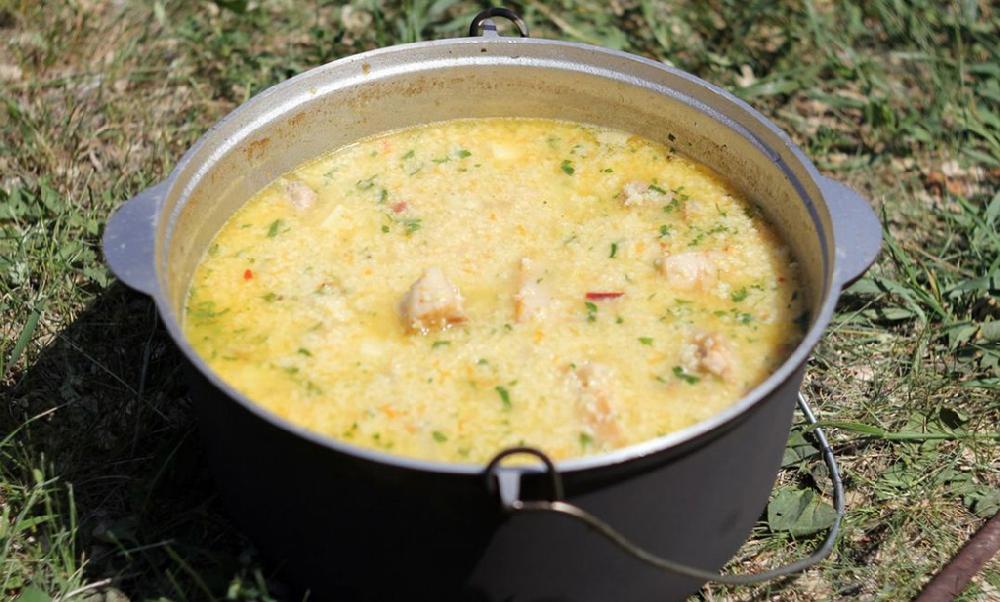 Суп-кулеш на костре