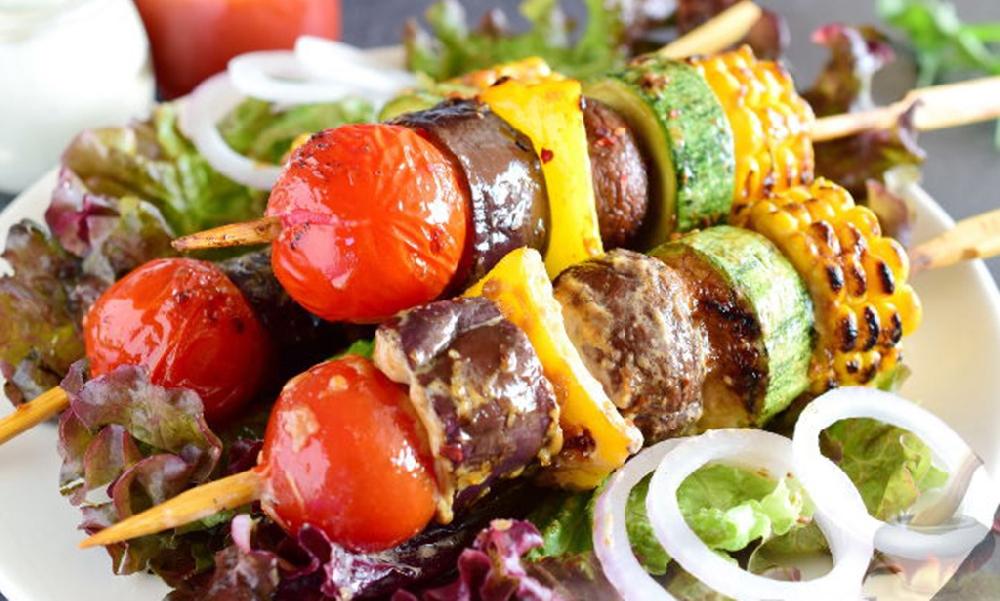 Шашлычок из овощей