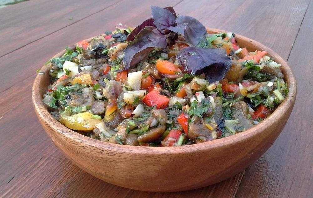 Мангал-салат к шашлыку