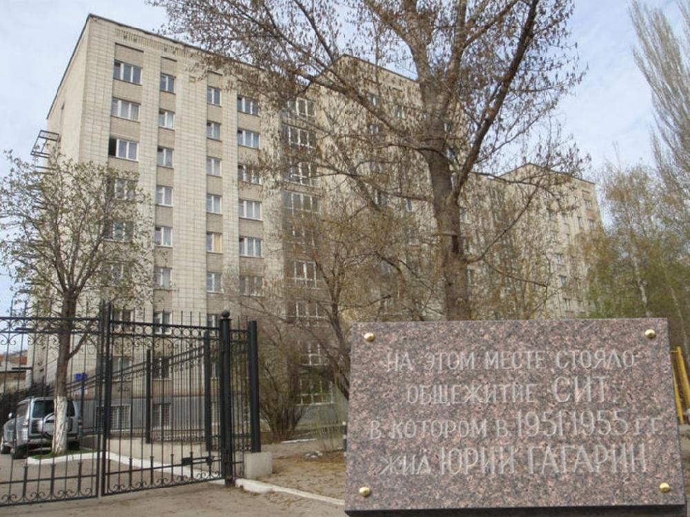 Общежитие на улице Мичурина