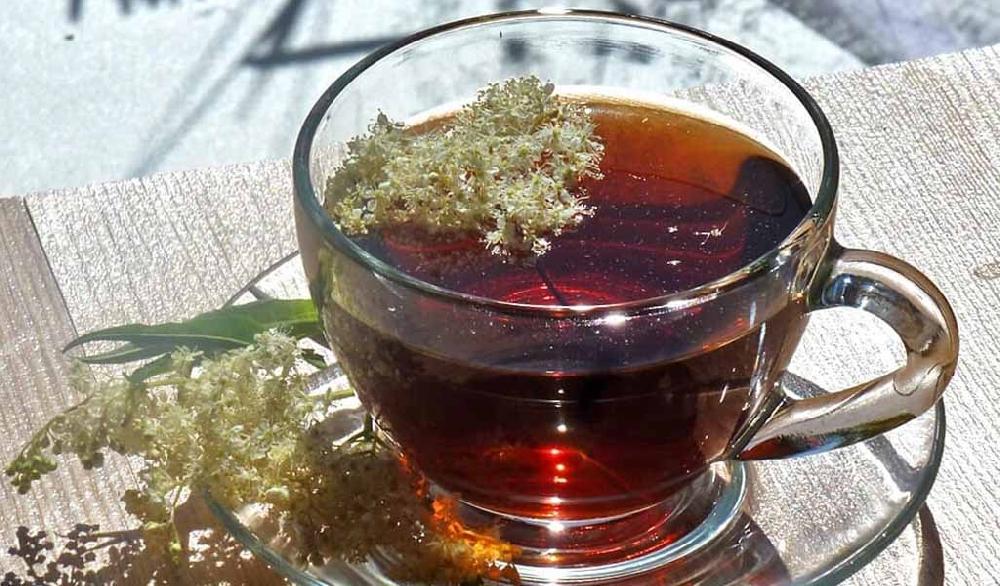 Чай из цветов таволги