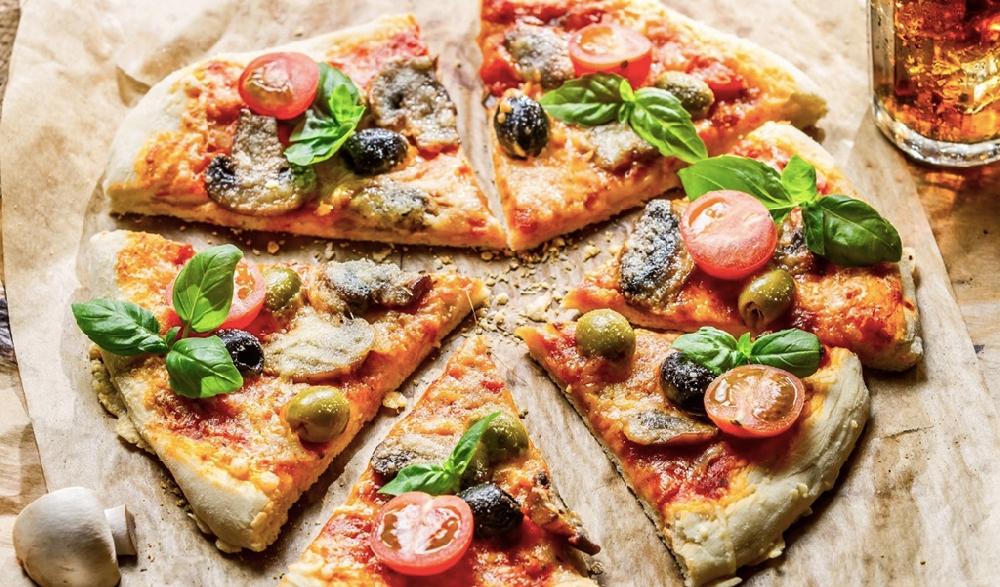 Пицца из амаранта