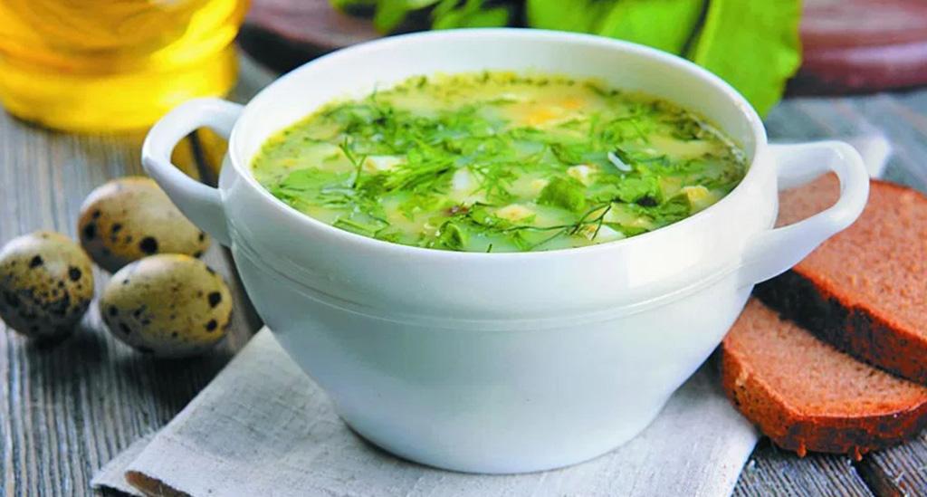 Овощные супы из амаранта