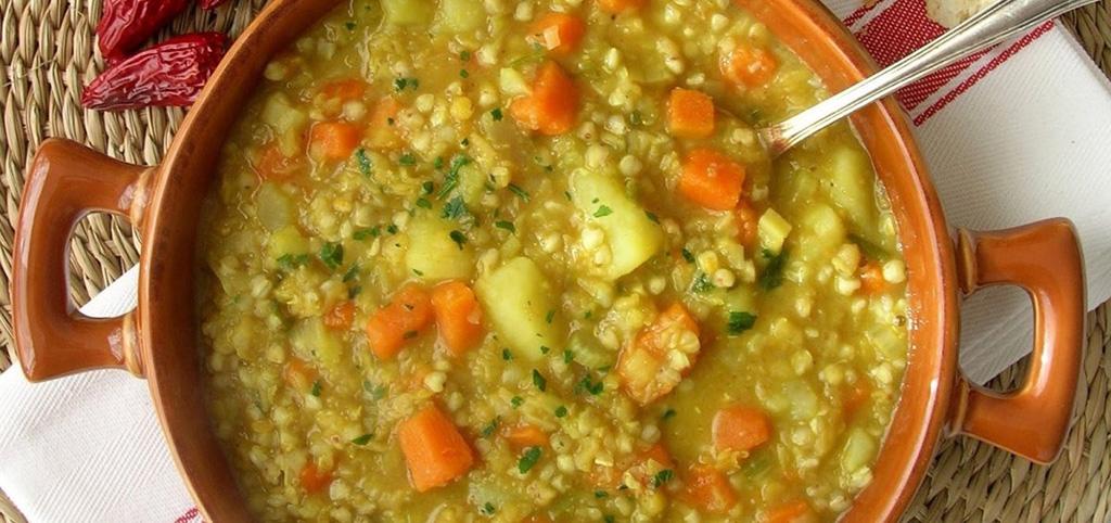 Густые супы из амаранта