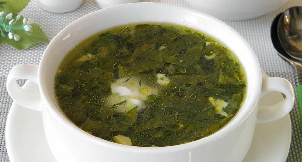 Суп из листьев подорожника