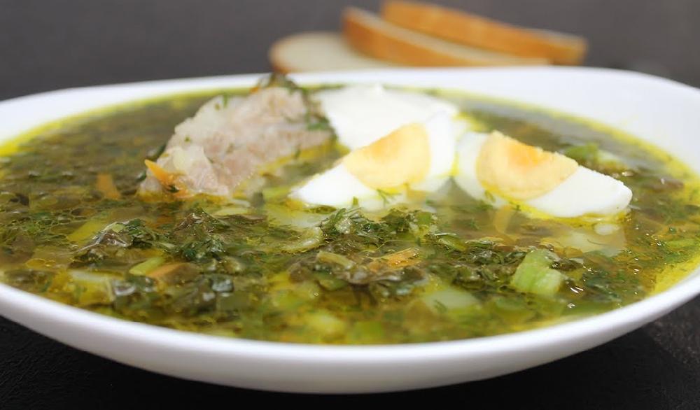 Супы со свербигой