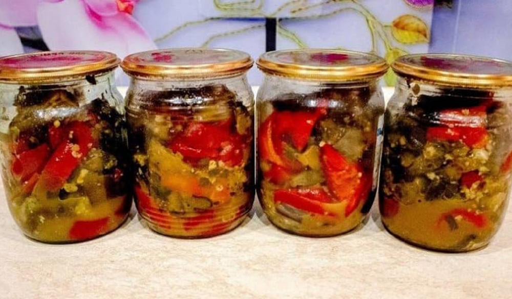 Заготовка из маслят с овощами на зиму