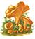 Лисичка обыкновенная (Cantharellus cibarius)