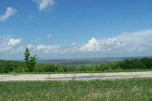 Вид с другой стороны дороги