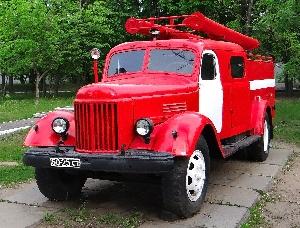 Автоцистерна пожарная АЦ-30 (164А)