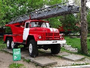 Пожарная автолестница АЛ-30 (131)