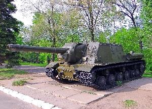 Самоходная артиллерийская установка ИСУ-152