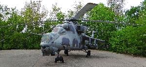 Транспортно-боевой вертолёт Ми-24В «Крокодил»