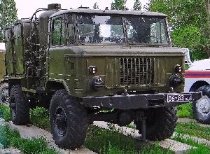 Дезинфекционно-душевая установка ДДА-66 на базе автомобиля ГАЗ-66
