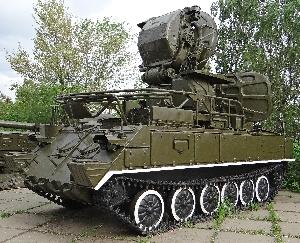 Установка разведки и наведения 1С91 самоходного зенитного ракетного комплекса 2К12 «Куб»