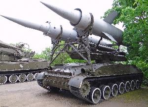 Пусковая установка 2П24 самоходного зенитного ракетного комплекса 2К11 «Круг»