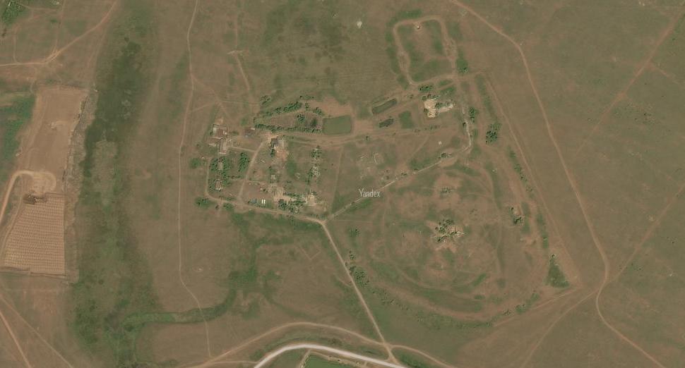 Территория бывшего дивизиона ЗРК С-75