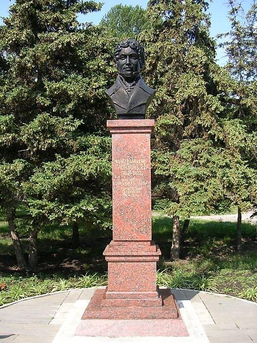 Бюст саратовского губернатора А. Д. Панчулидзева