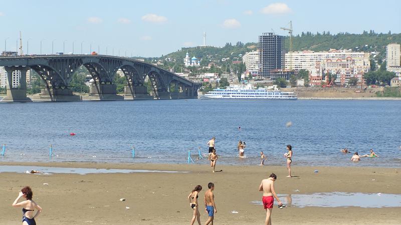 Саратовский городской пляж