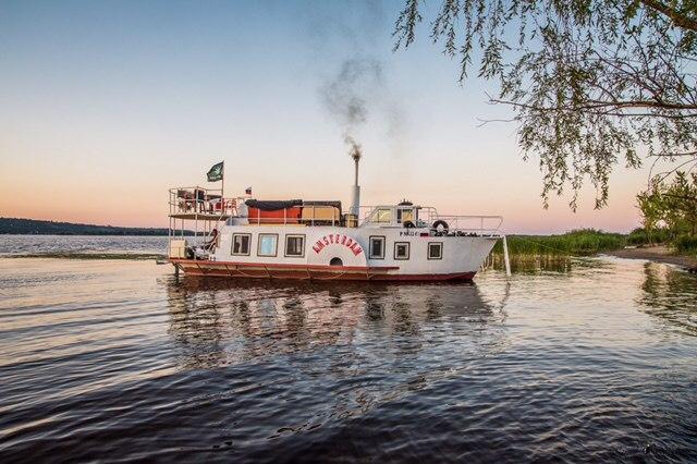 Колесный пароход «Амстердам»