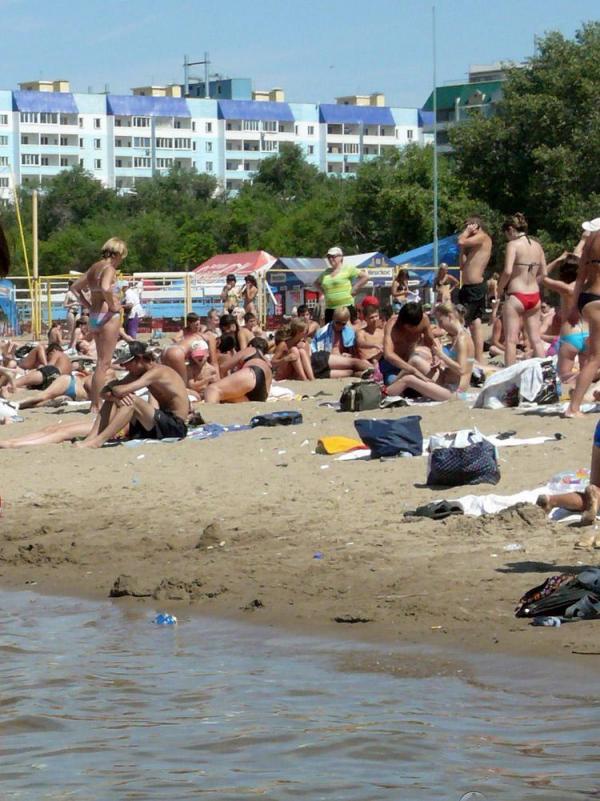 Энгельский городской пляж