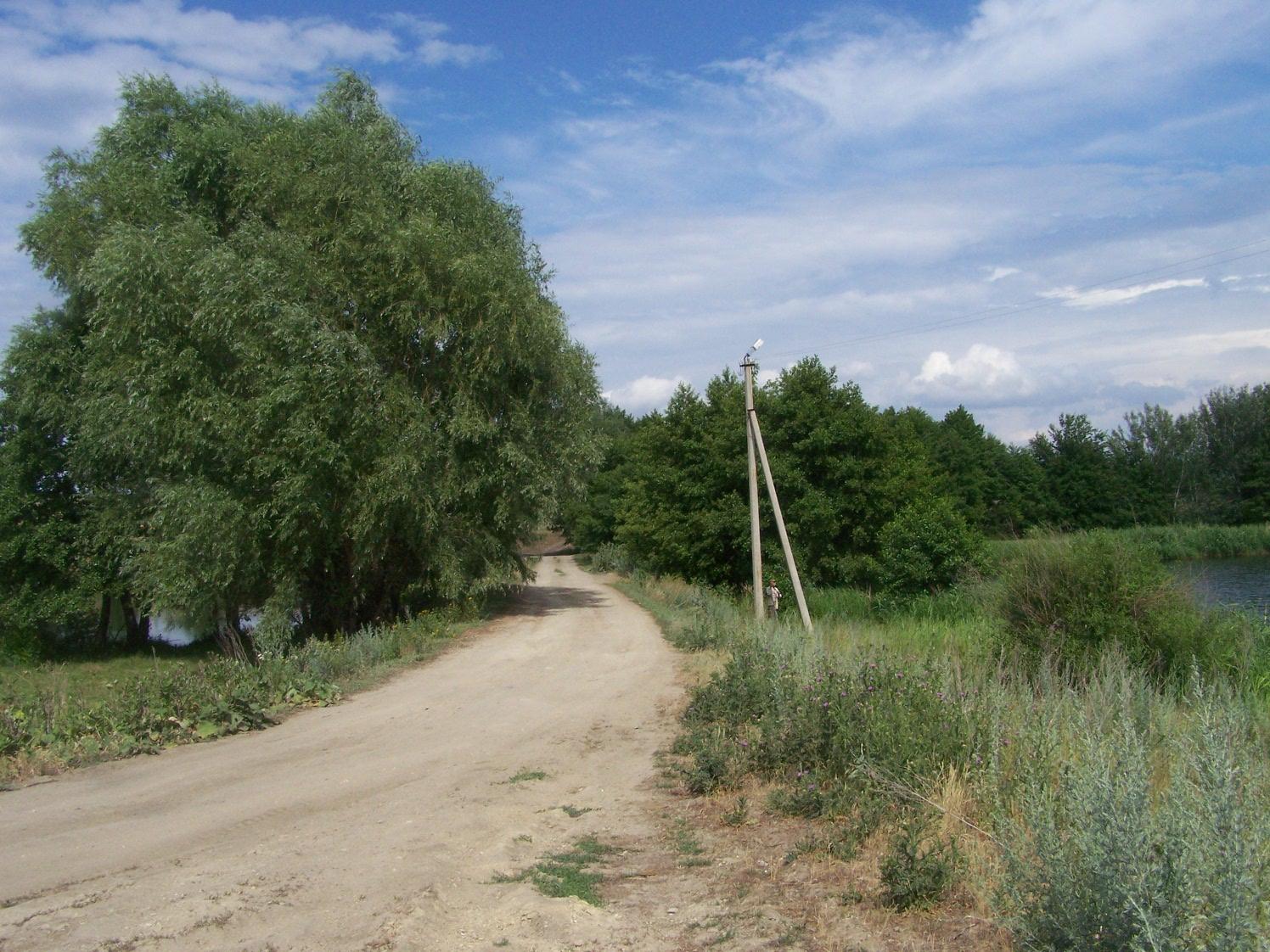 Елшанский каскад прудов