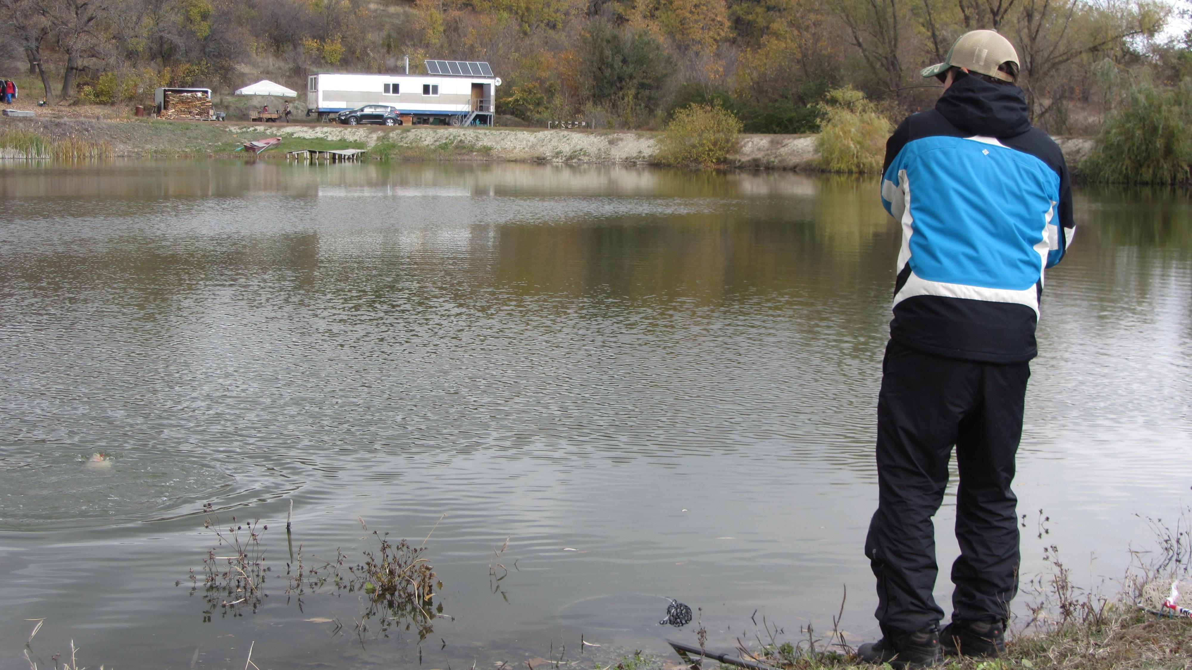 Форелевый пруд Лесное Озеро