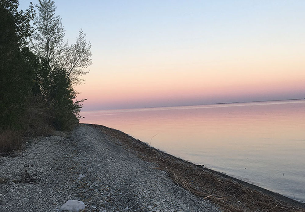 Залив Пустой Меловой