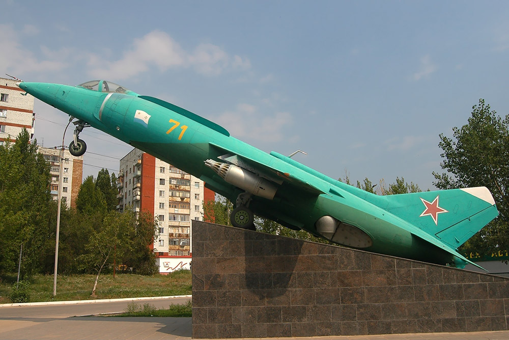 Палубный истребитель Як-38