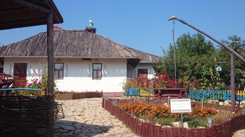 Украинский хутор «Свитанок» в Национальной деревне