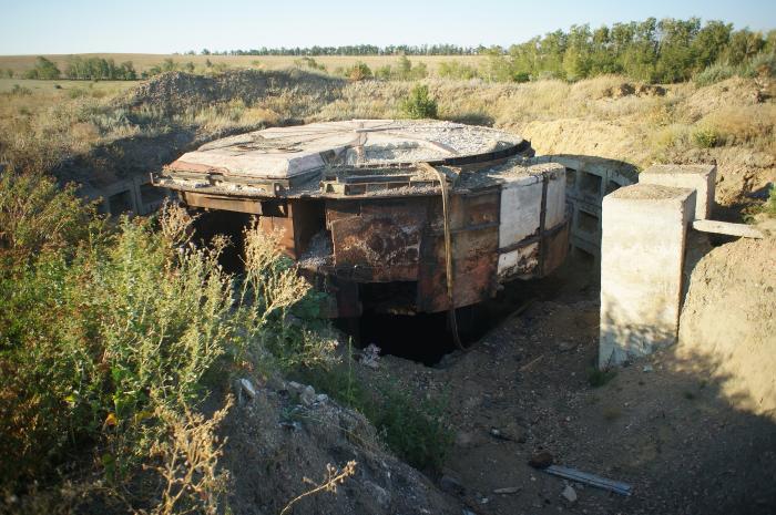 Бывшая ШПУ МБР УР-100НУ
