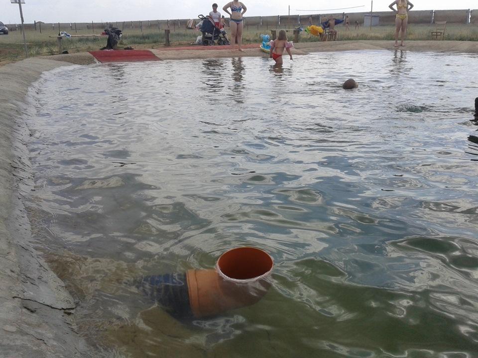 Сероводородный источник бассейн