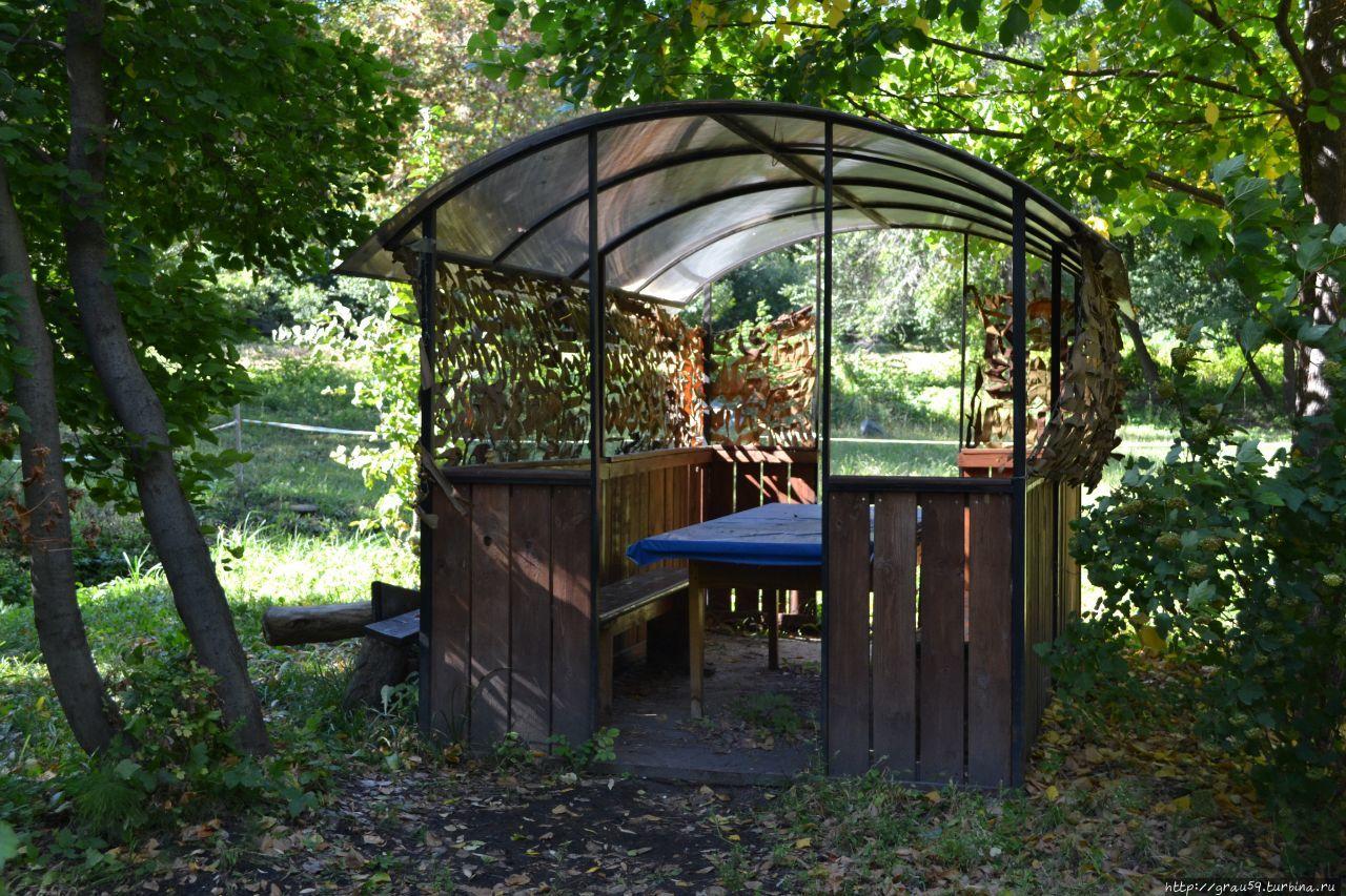 """Уютные беседки в агроцентре """"Корольков сад"""""""