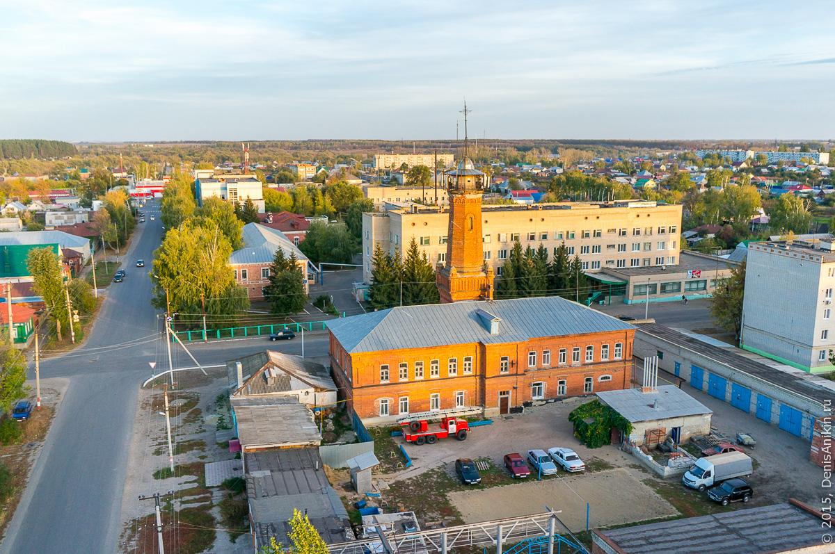 Петровская пожарная каланча