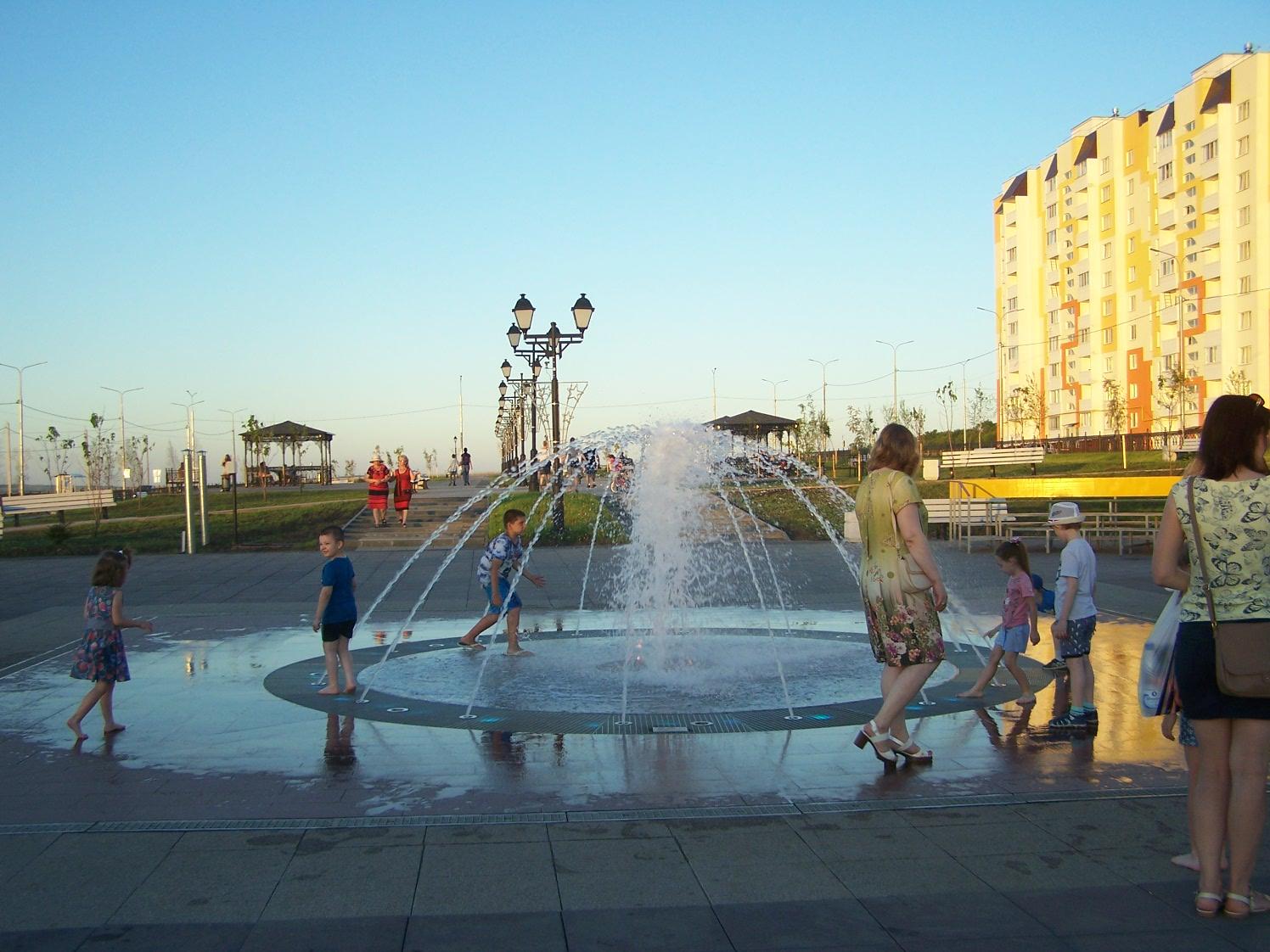 Третий фонтан бульвара Героев