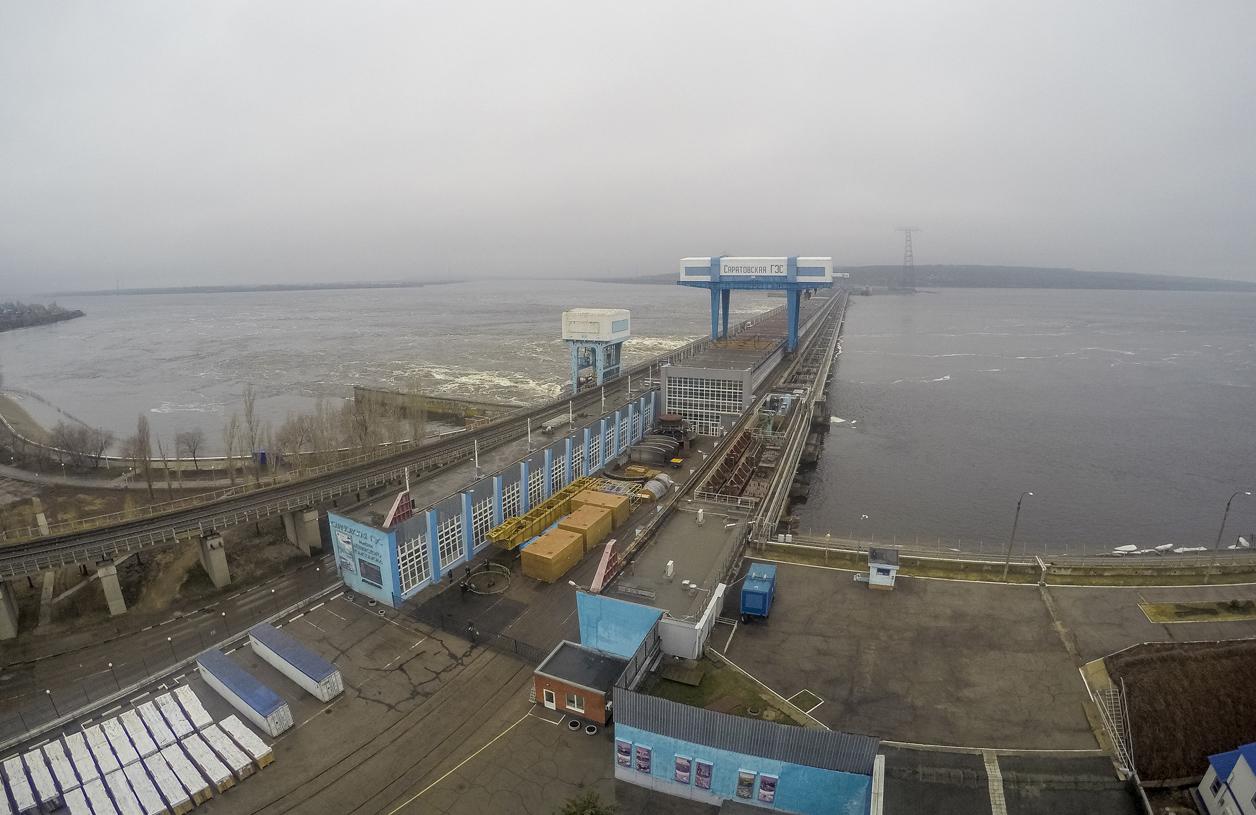 Саратовская ГЭС