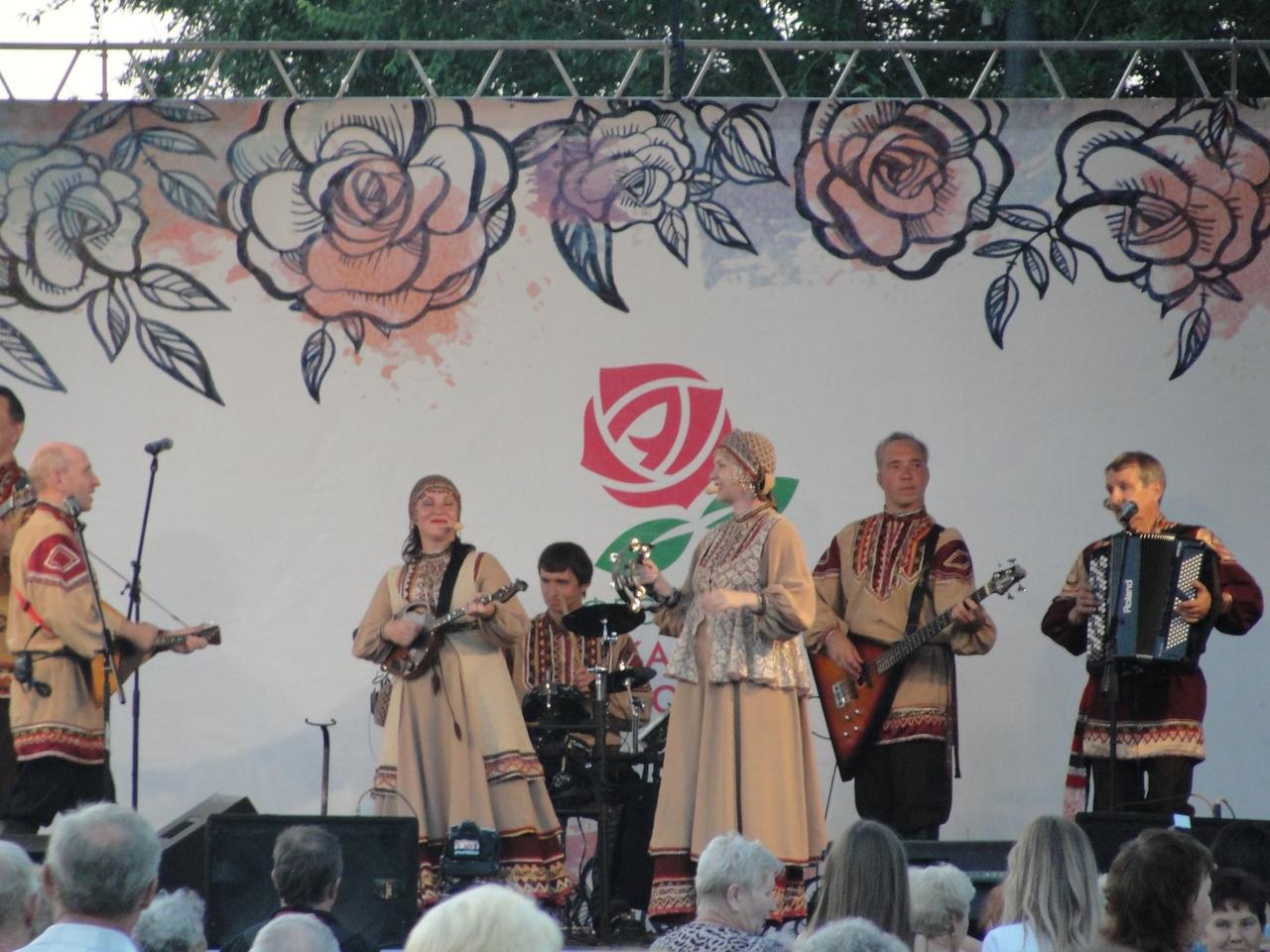 """Фестиваль """"Аткарские розы"""""""
