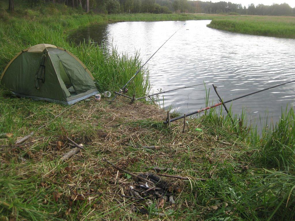 Щербиновские места для палаточного отдыха