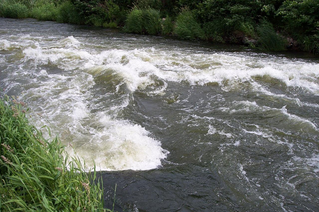 Щербиновский водопад на Медведице